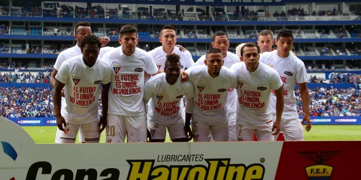 """Esteban Paz: """"Liga de Quito tiene sobrepoblación de jugadores"""""""