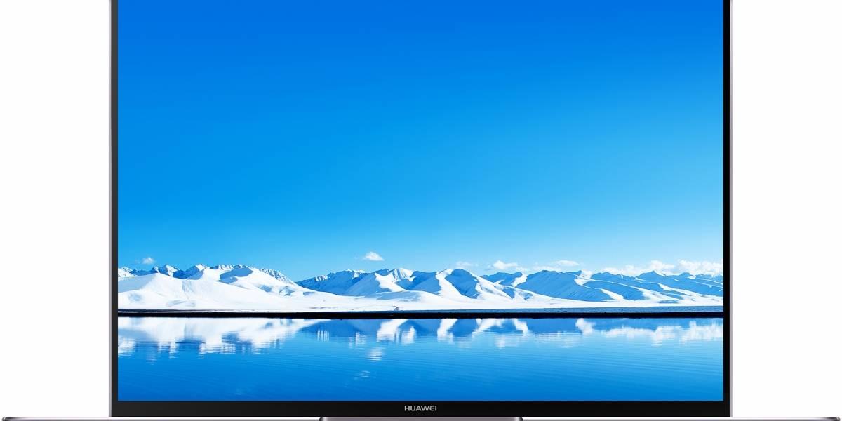 Huawei lanza oficialmente en Chile su poderoso portátil ultra ligero MateBook X Pro