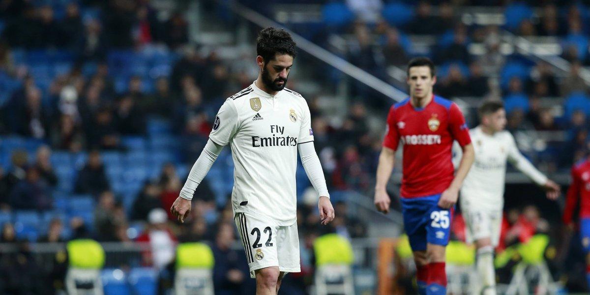 CSKA Moscú exhibe al Real Madrid con goleada en el Bernabéu