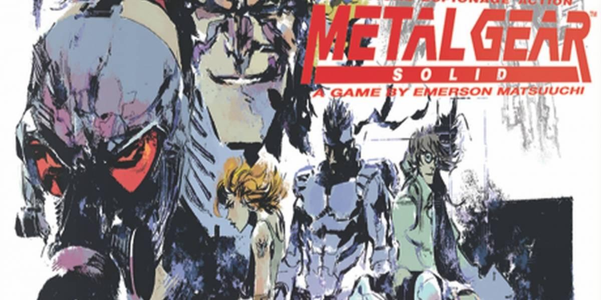 Metal Gear Solid tendrá su propio juego de mesa en 2019