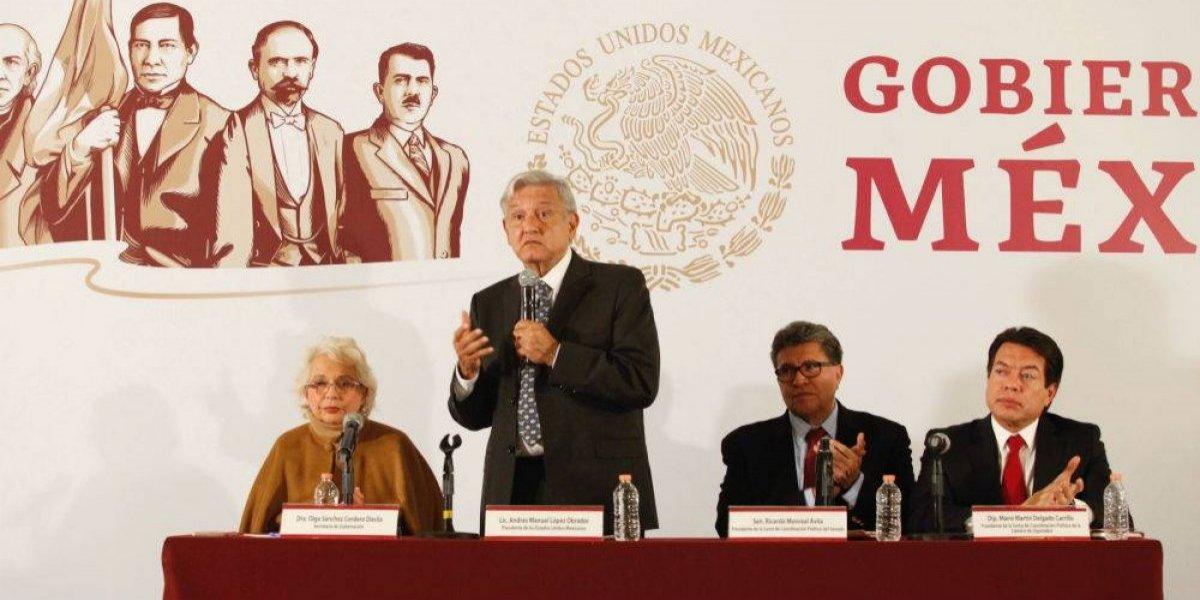 AMLO y legisladores analizan agenda y presupuesto