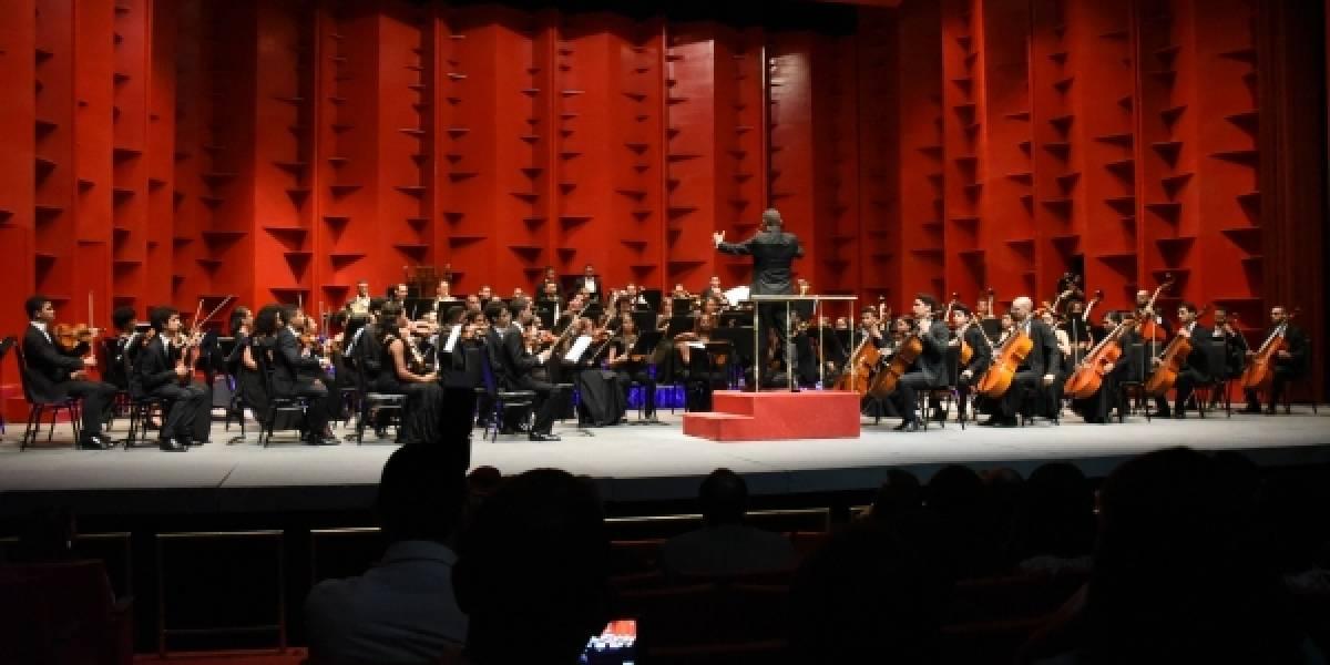 Este sábado 15, la Orquesta Sinfónica Nacional y Juvenil protagonizará concierto de Navidad en Galería 360