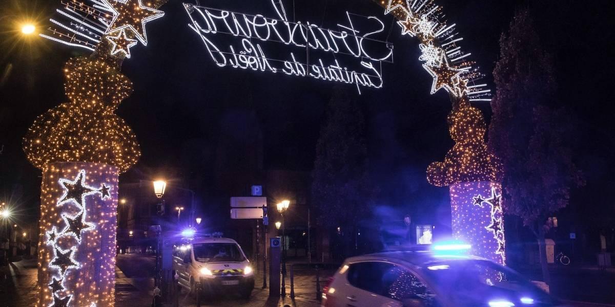 Sospechoso de ataque en Estrasburgo continúa prófugo
