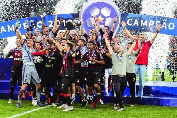 Atlético-PR campeão sul americana