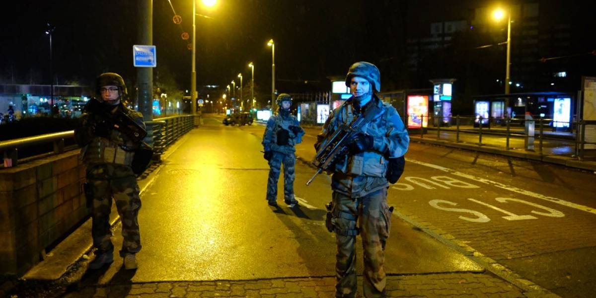 Policía abate a presunto tirador de Estrasburgo