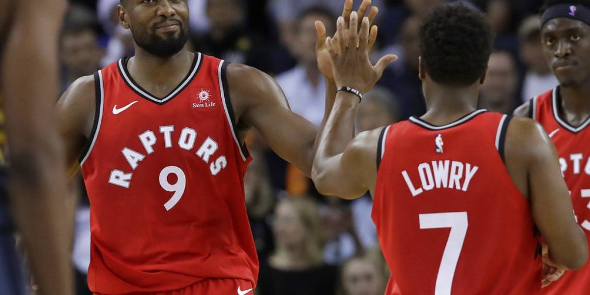 Raptors vuelven a demostrar su poderío ante los campeones Warriors
