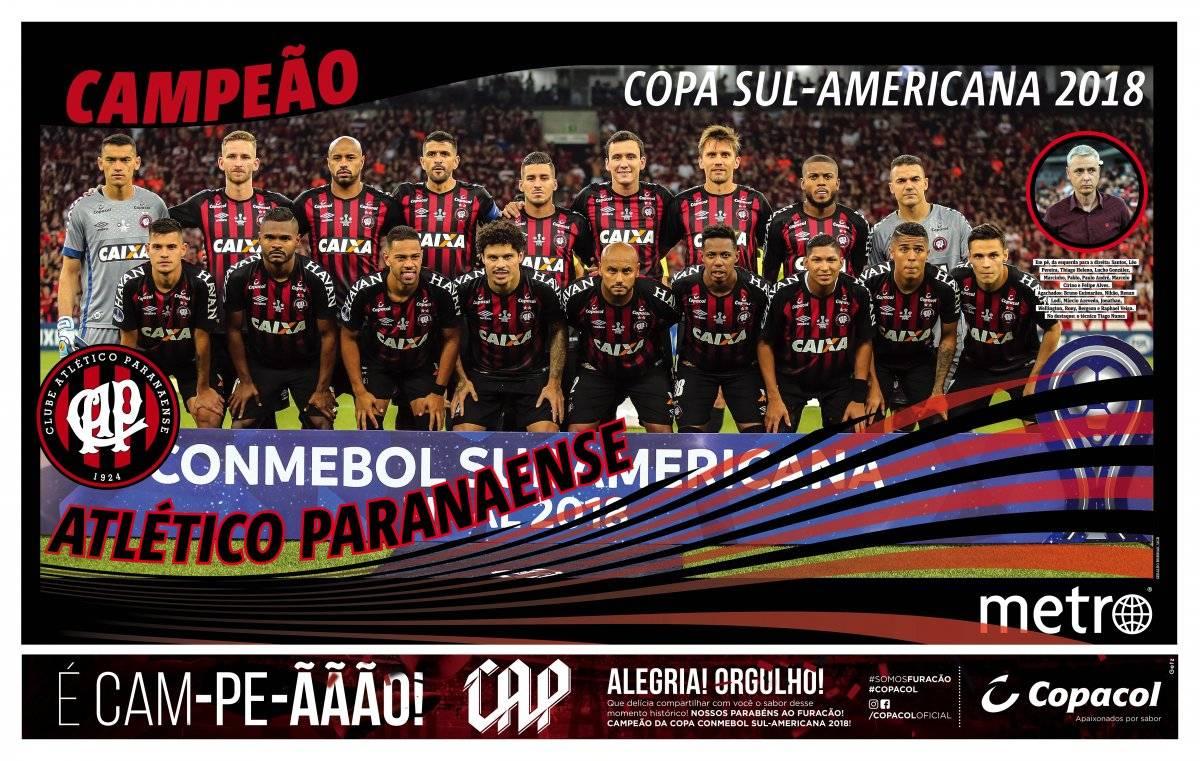 Atlético-PR poster campeão