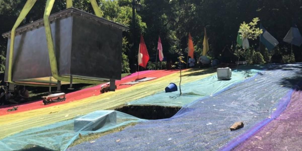 Monumento LGBTI es amenazado por redes sociales