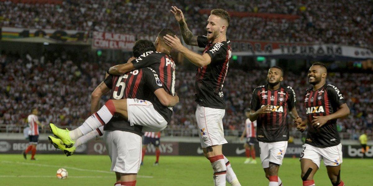 El Atlético Paranaense se proclamó campeón de la Copa Sudamericana