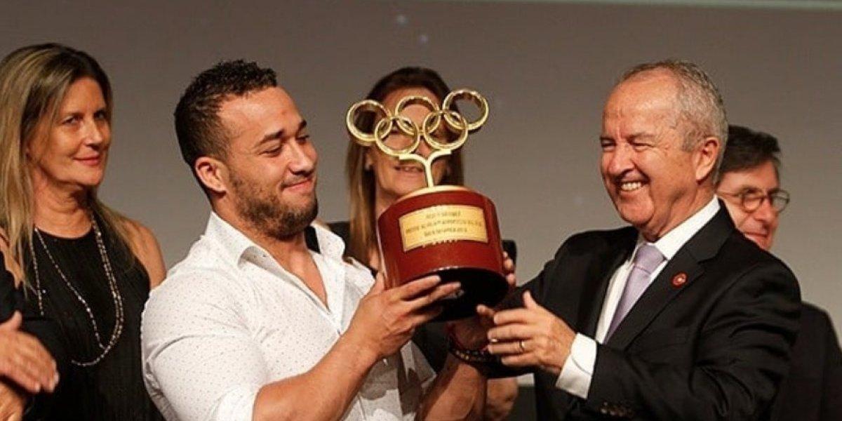 Arley Méndez fue elegido el mejor de los mejores en la Gala Olímpica 2018