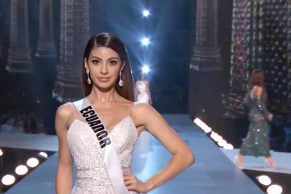 Camarera de restaurante tailandés reconoce a Virginia Limongi, Miss Ecuador