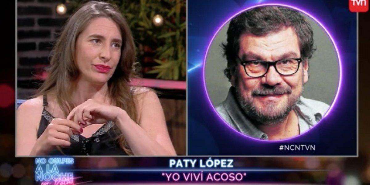 Paty López revela que vivió episodios de acoso en la televisión