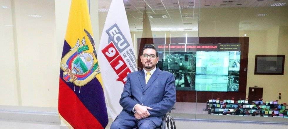 Stalin Basantes Moreno, nuevo director general del ECU 911