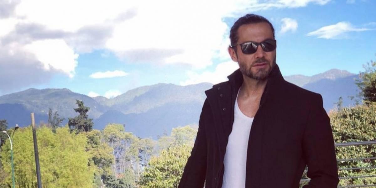 Este actor y presentador colombiano recibió una amenaza de muerte