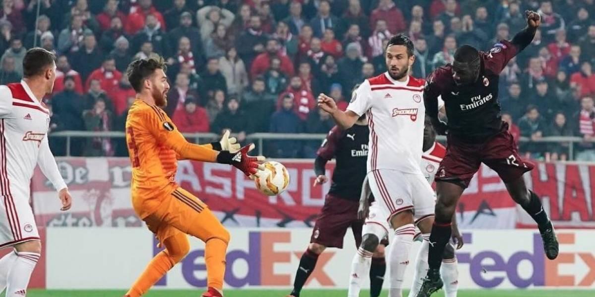 Gol y autogol de Cristian Zapata en la eliminación del Milan