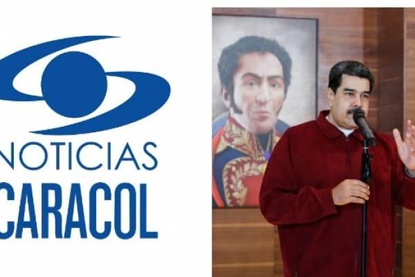 Noticias Caracol - Nicolás Maduro
