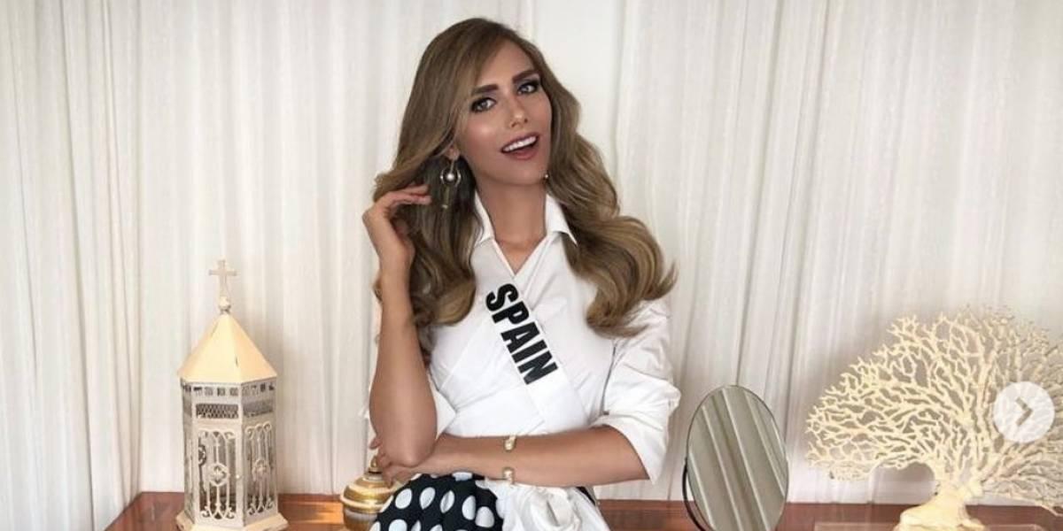 749c15f0454 MISS UNIVERSO: Miss España desfiló en traje de baño y se robó todas ...