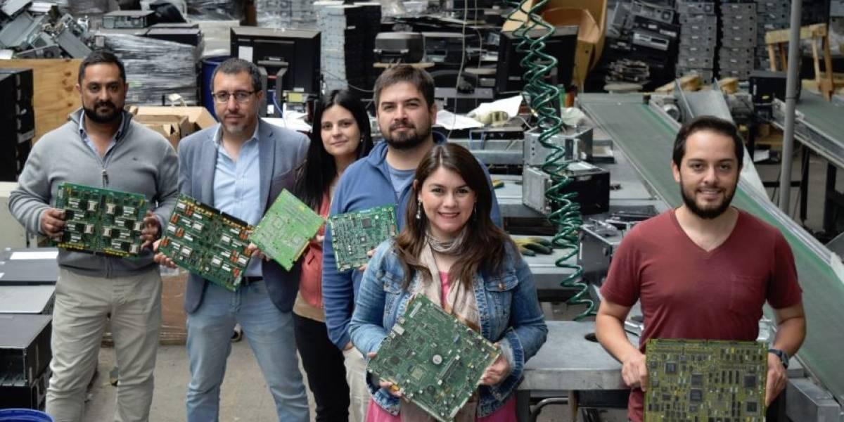 Chilenter comenzará estudio para recuperar metales preciosos en residuos electrónicos