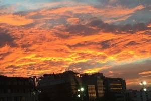 Cielo Rojo en la CDMX