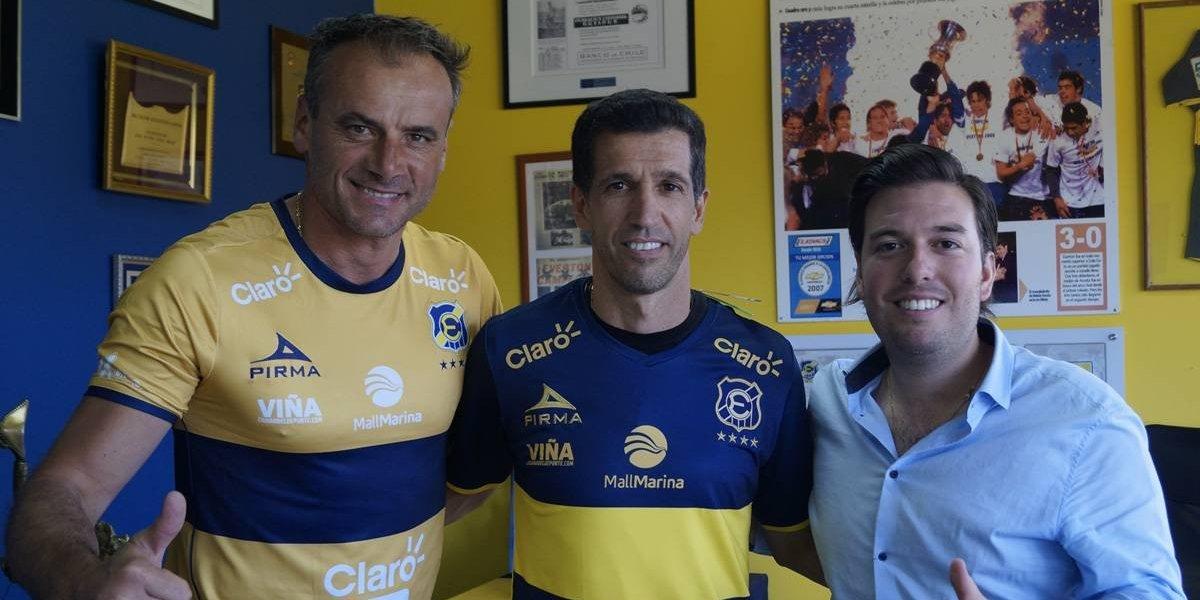 El uruguayo Gustavo Díaz se convirtió en el nuevo entrenador de Everton