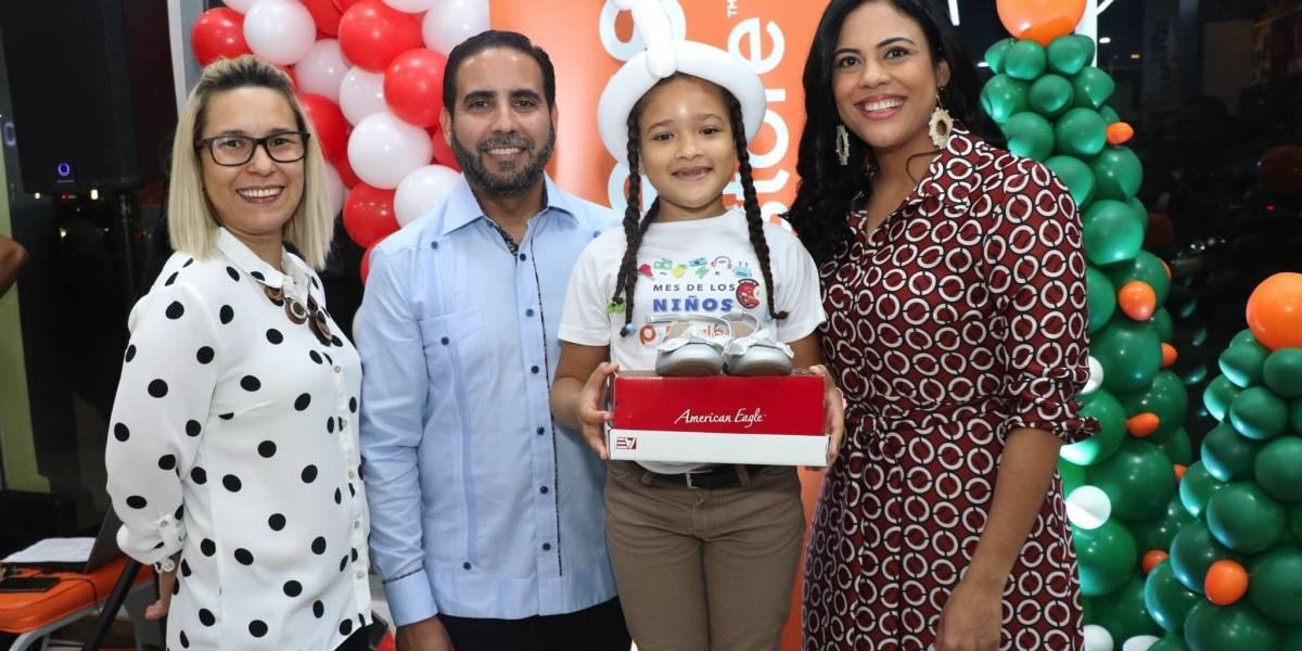 #TeVimosEn: Payless brinda alegría a 500 niños de Santo Domingo y Santiago