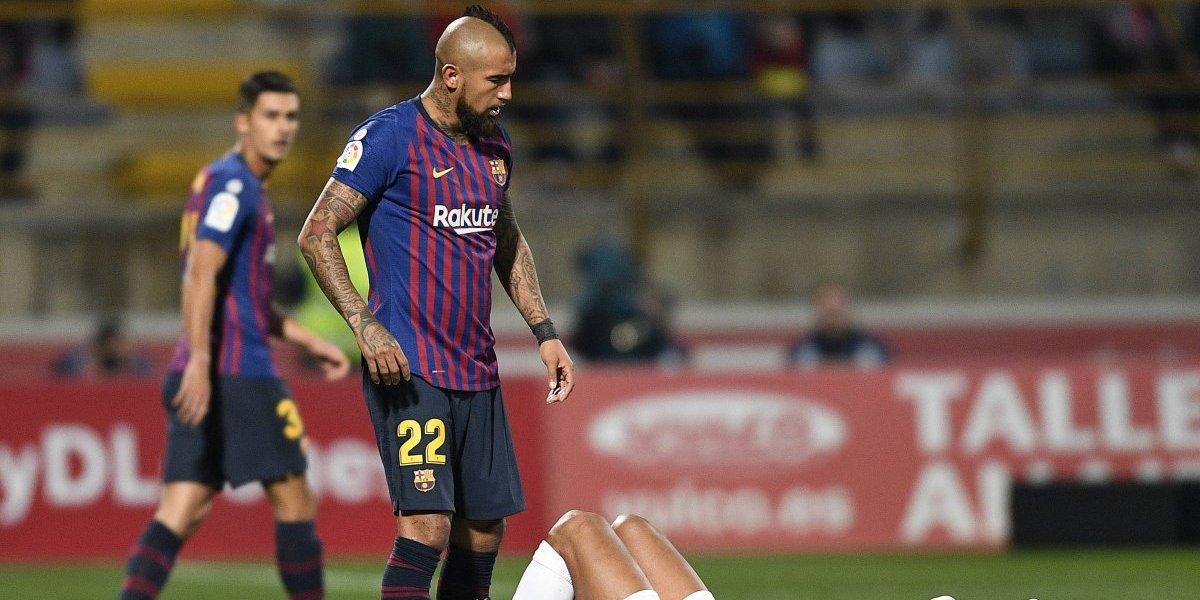 El Barcelona de Vidal se topará con el Levante en su camino al bicampeonato de la Copa del Rey
