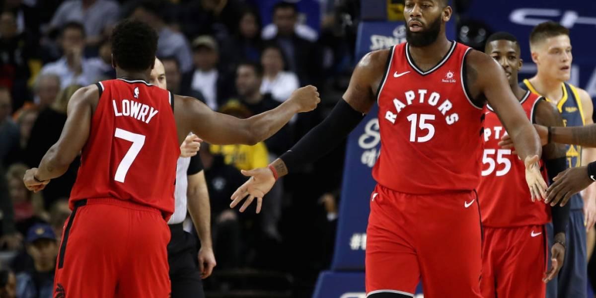 NBA: Kyle Lowry marcó diferencias en triunfo a domicilio de Raptors sobre Warriors