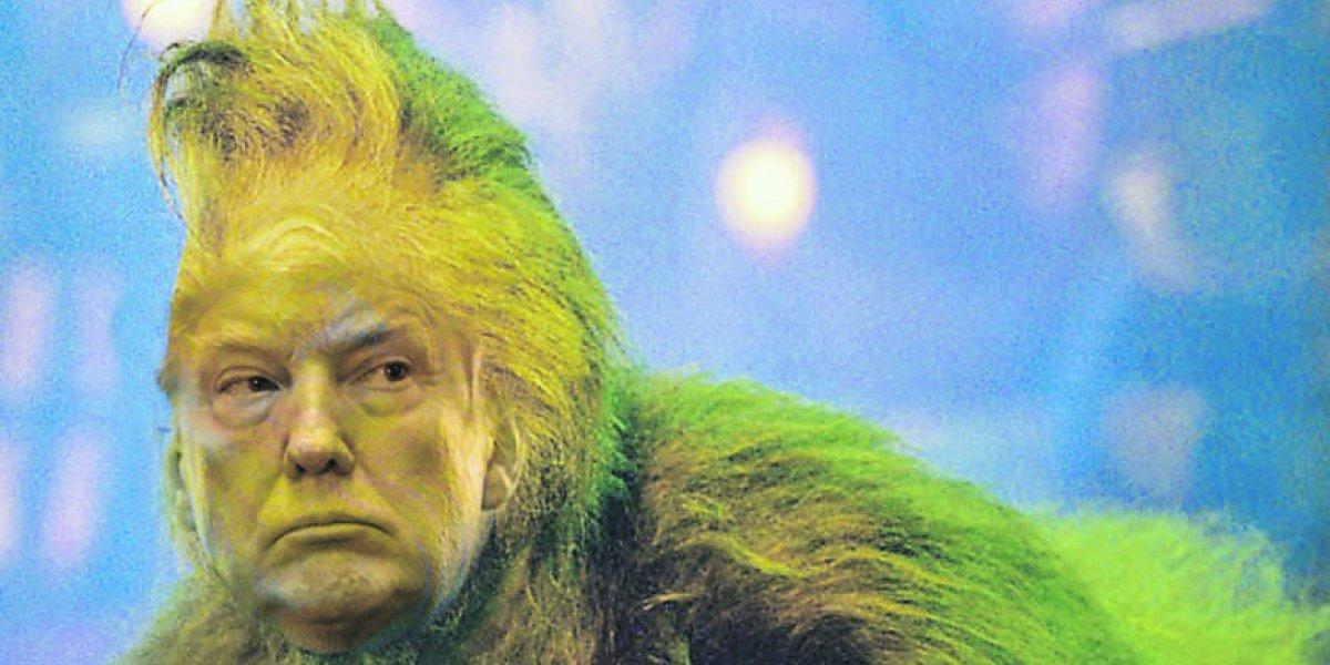 Trump, el Grinch, robó la Navidad a los periodistas