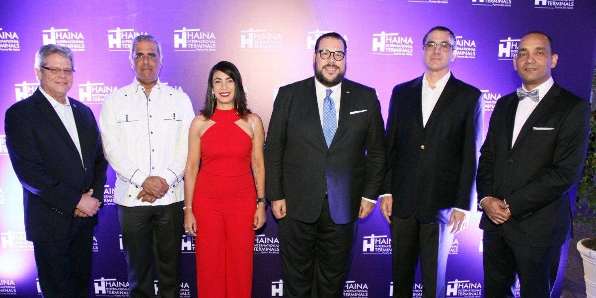 #TeVimosEn: Haina International Terminals ofrece cóctel a clientes