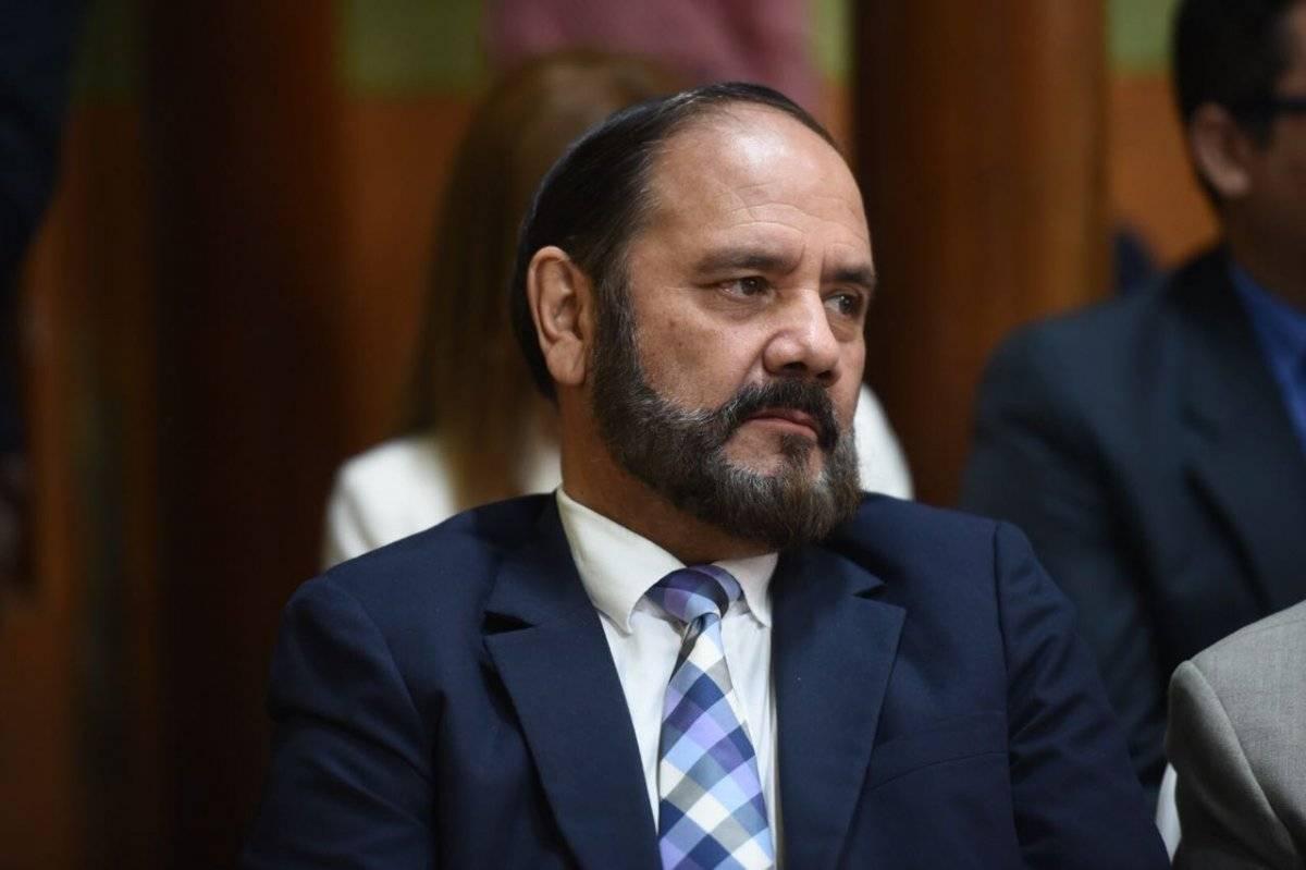 El director del Registro de Ciudadanos del Tribunal Supremo Electoral se pronunció por la queja de la UNE. Foto: Edwin Bercián