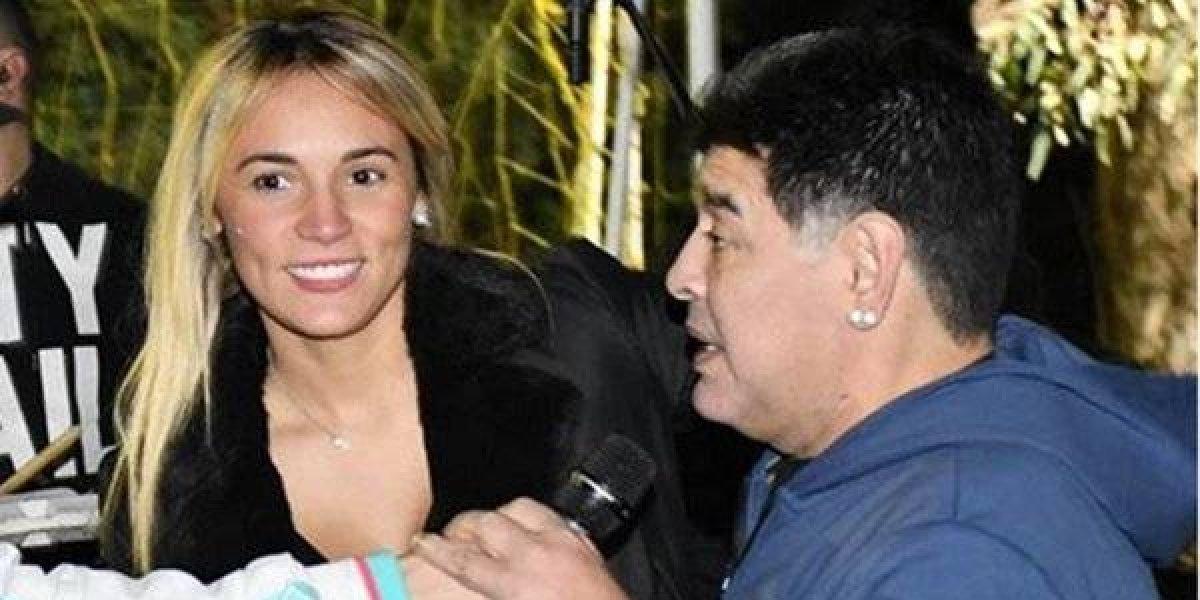 Maradona habría terminado su relación con Rocío Oliva