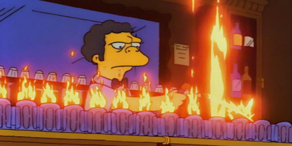 """Estudiantes se tomaron una """"llamarada Moe"""" y estuvieron a un paso de la muerte"""