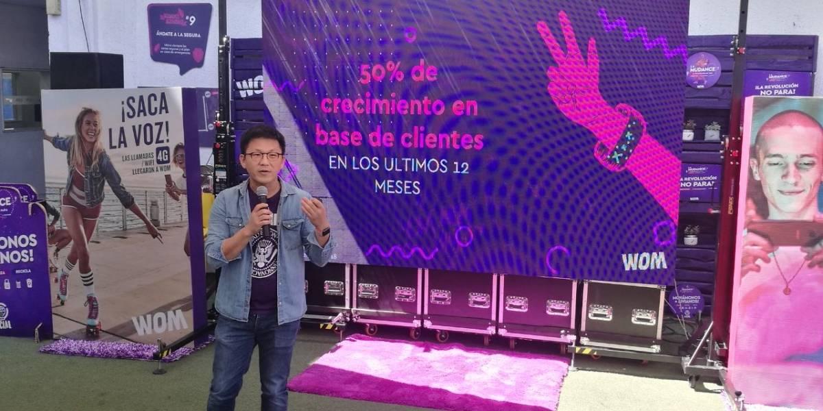 WOM anuncia para todo Chile servicio de llamadas 4G y sobre WiFi