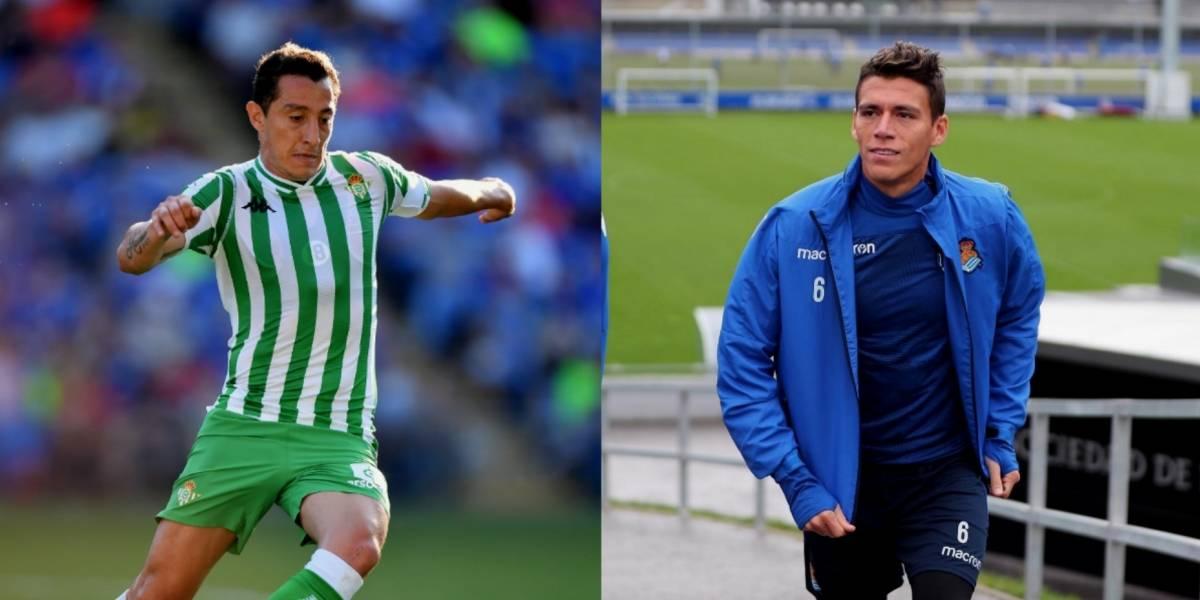 Guardado y Moreno se medirán en octavos de Copa del Rey