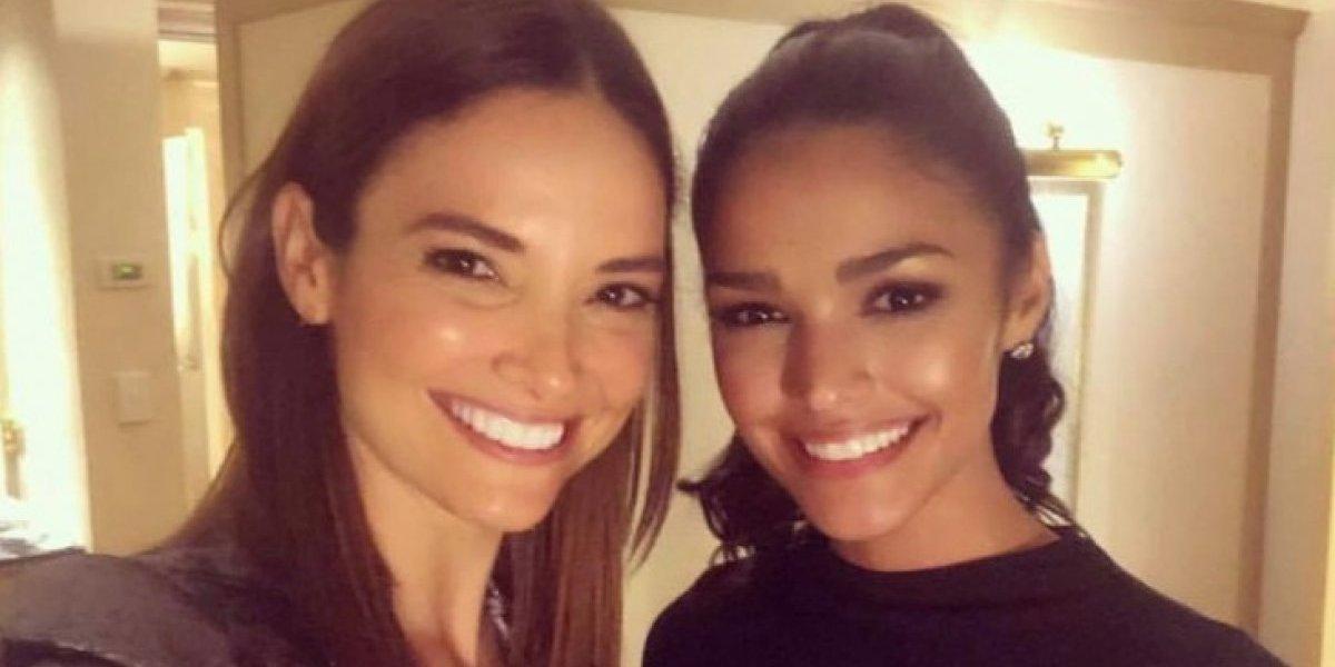 Orgullosa Denise de su primera alumna en Miss Universo
