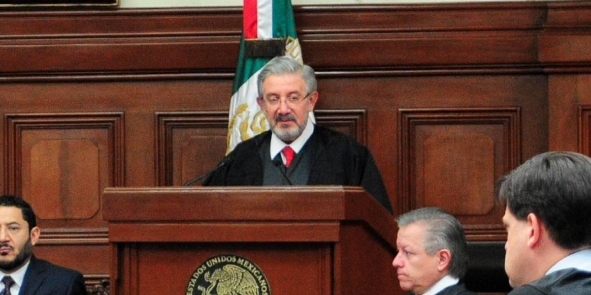 Presidente de la SCJN defiende independencia del Poder Judicial