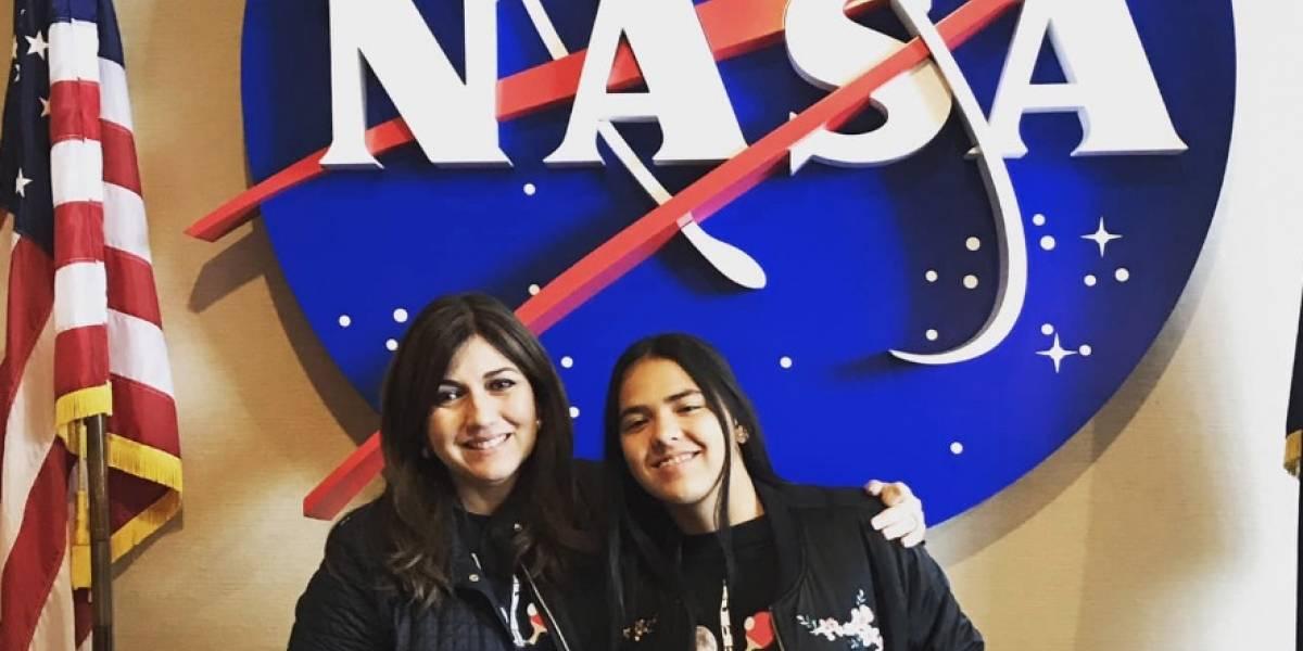 Adriana Díaz se convierte en astronauta durante su visita a la NASA