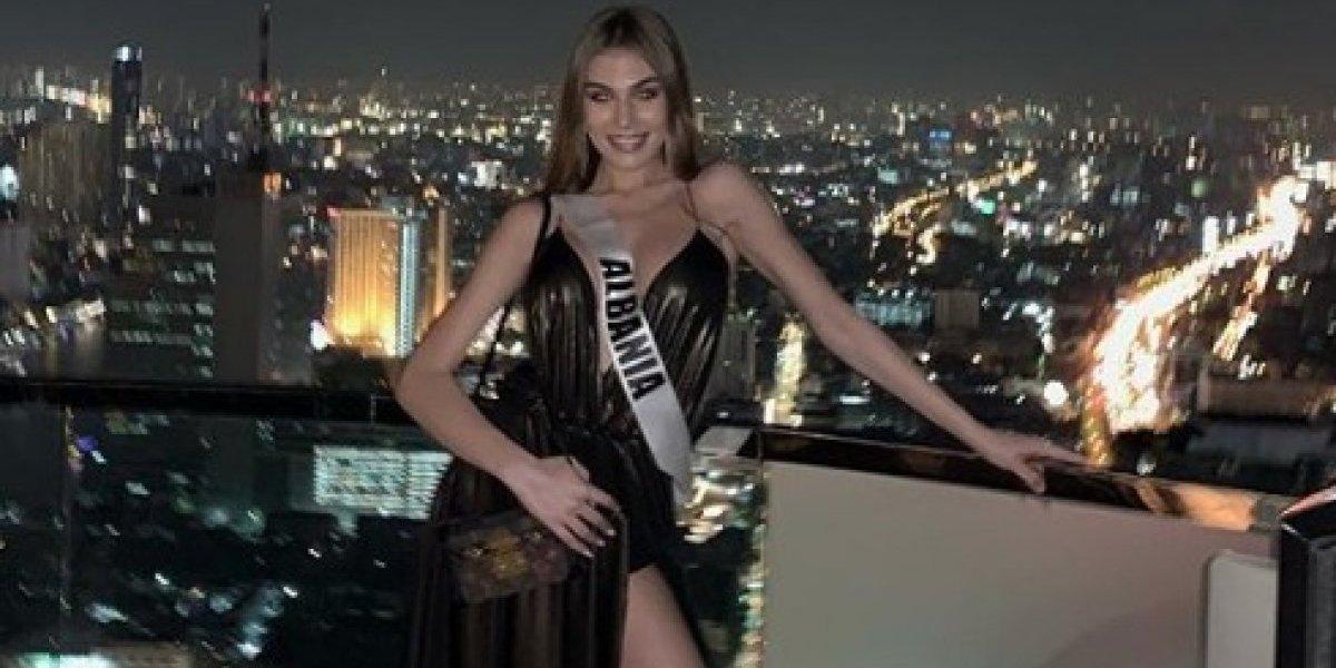 """Miss Albania se relaja con """"Te boté"""" antes de la preliminar"""