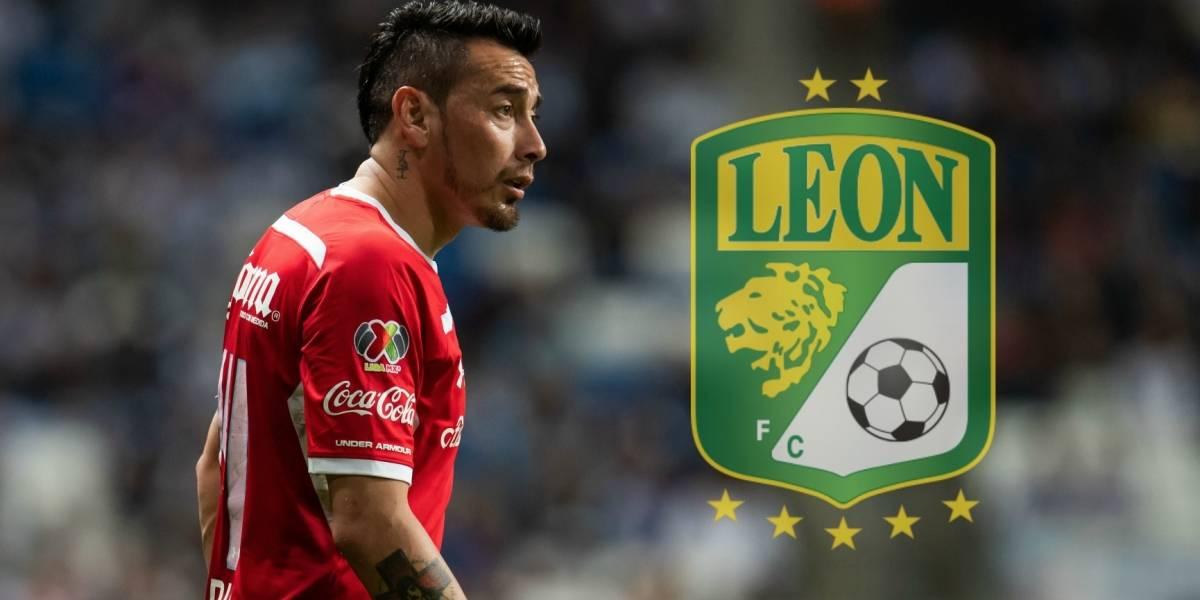 Rubens Sambueza ficha con el León para el CL19