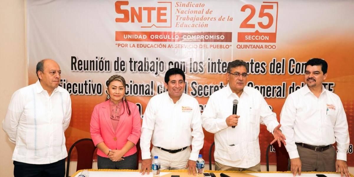 SNTE asegura que el desafío es mantenerse como organización nacional y única