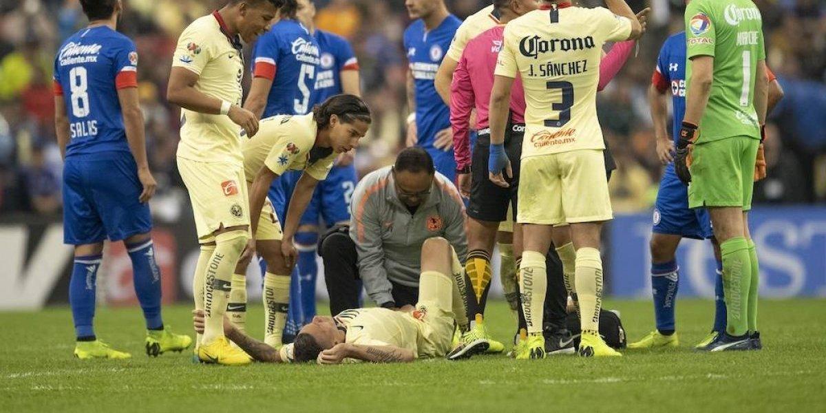 Mateus Uribe sufre terrible lesión y se pierde la final