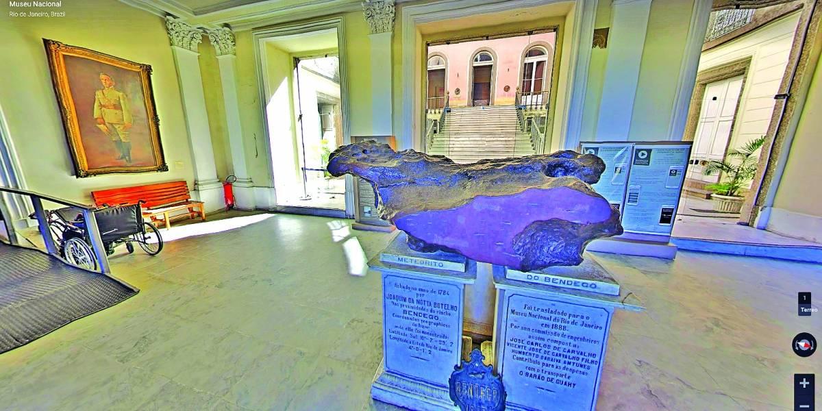 Museu Nacional é remontado digitalmente pelo Google