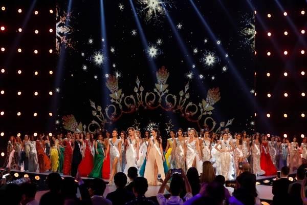 Candidatas al Miss Universo 2018, en la preliminar
