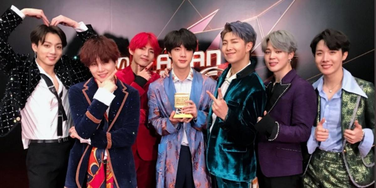 Grupo BTS vai às lágrimas ao ganhar o prêmio mais importante do MAMA 2018