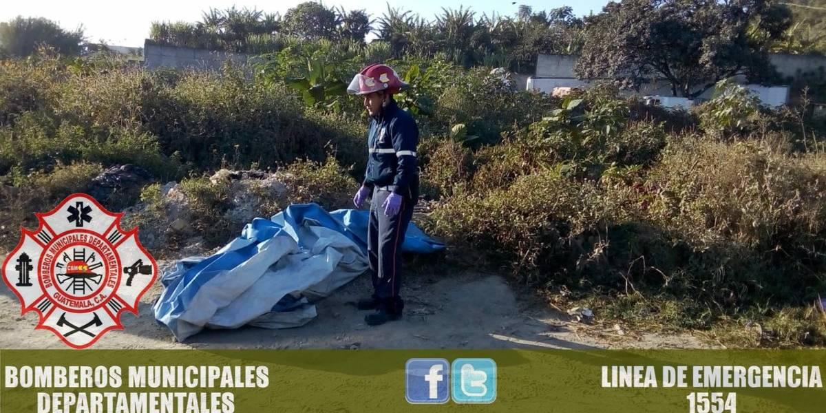 Localizan el cuerpo de un hombre envuelto en nailon en Villa Nueva
