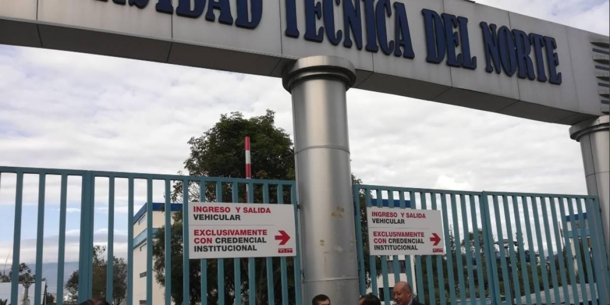 Ibarra: Universidad Técnica del Norte fue evacuada ante existencia de material explosivo