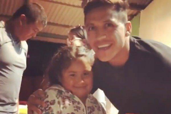El delantero se llenó de amor / imagen: Instagram Alexis Sánchez