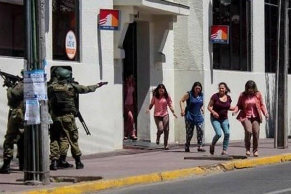 Mujeres no informadasa del simulacro en Linares se querellarán