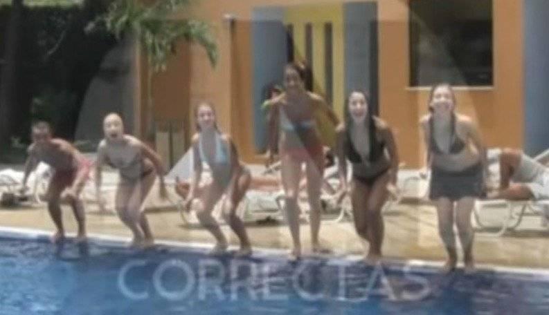 Se filtran fotos inéditas de la gira del elenco de Patito Feo por Nicaragua CAPTURA PROGRAMA INCORRECTAS