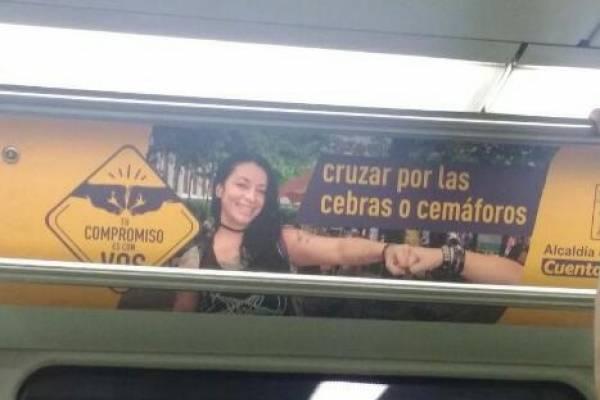 Error ortografía publicidad Alcaldía de Medellín
